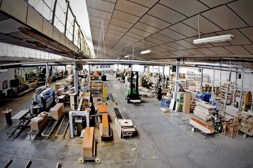 Interior carpintería Guillén. Atlántida Homes