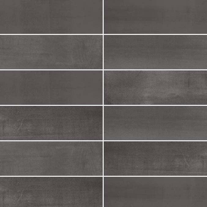 Revestimiento PORCELÁNICO Rectificado - Abstract Grafito 20x120cm - Saloni
