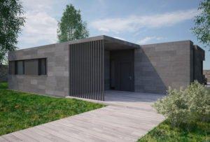 Casa de diseño. Cala 3 dormitorios. Atlántida Homes