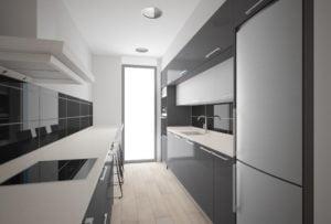 Casa de diseño. Arca 2 dormitorios. Cocina