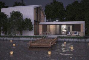 Casa de diseño. Arca 4 dormitorios. Exterior