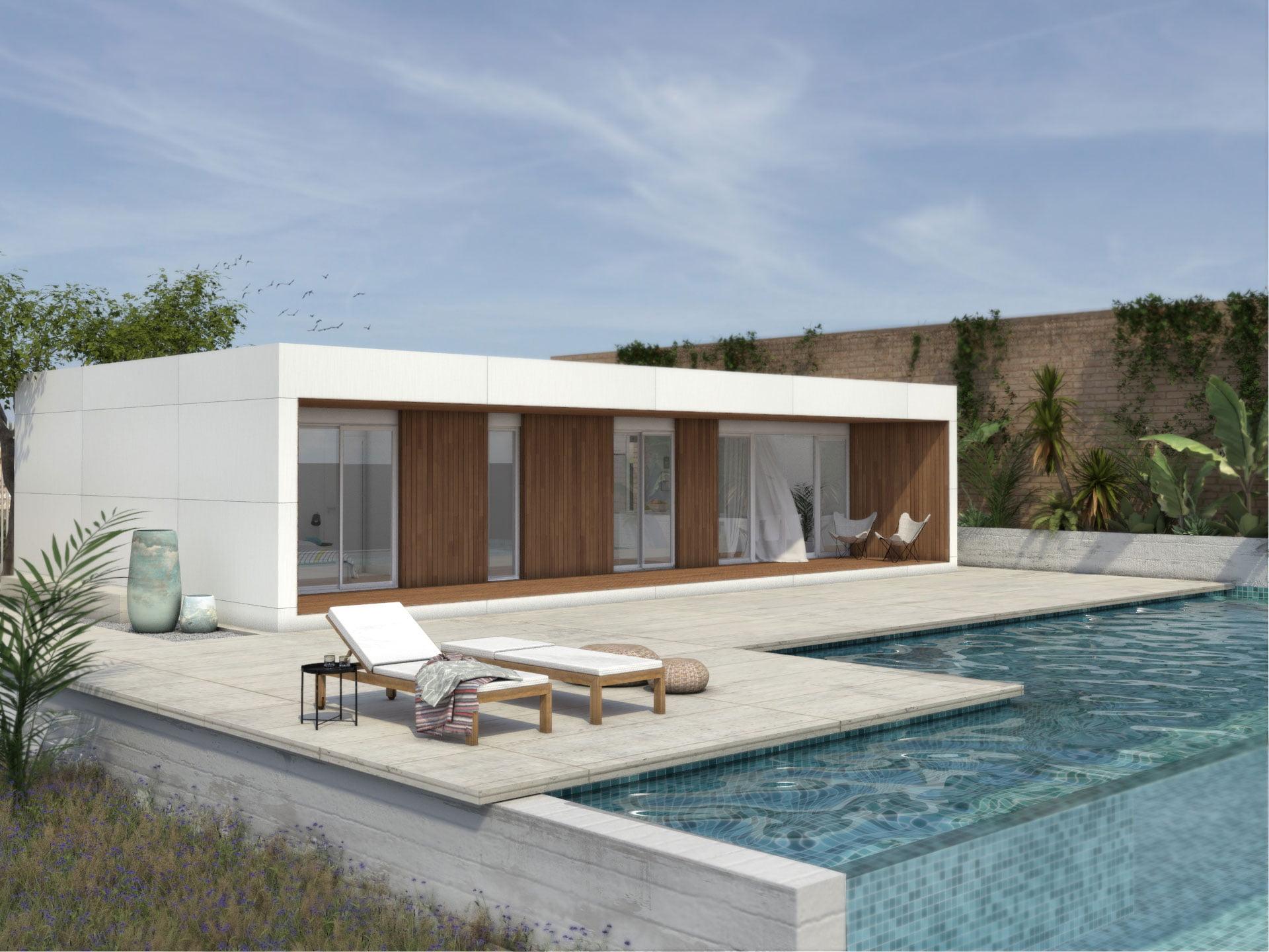 Casa prefabricada duna 3 dormitorios atl ntida homes - Atlantida homes ...