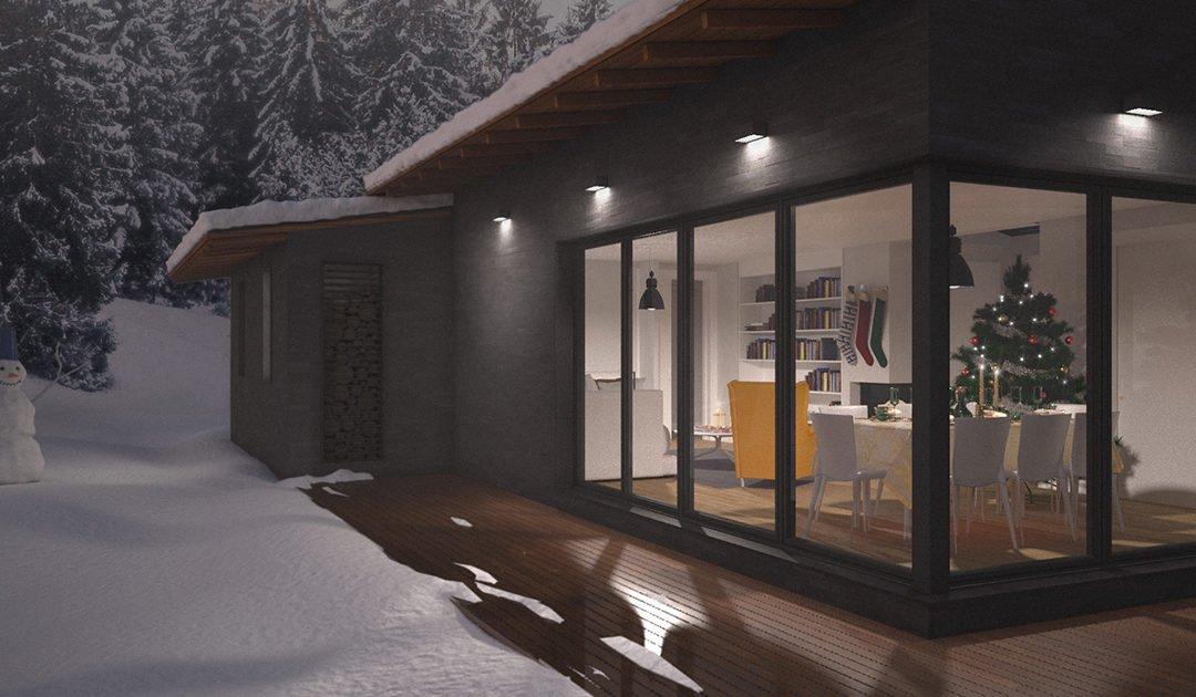Eficiencia energética en casas prefabricadas.