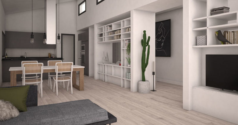 interior casas prefabricadas de calidad