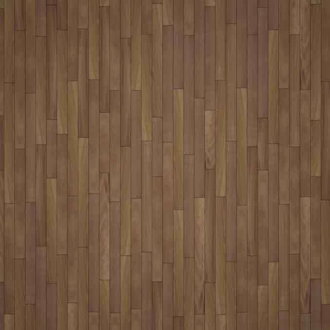MADERA de Iroko sobre rastrel de aluminio - Exterpark