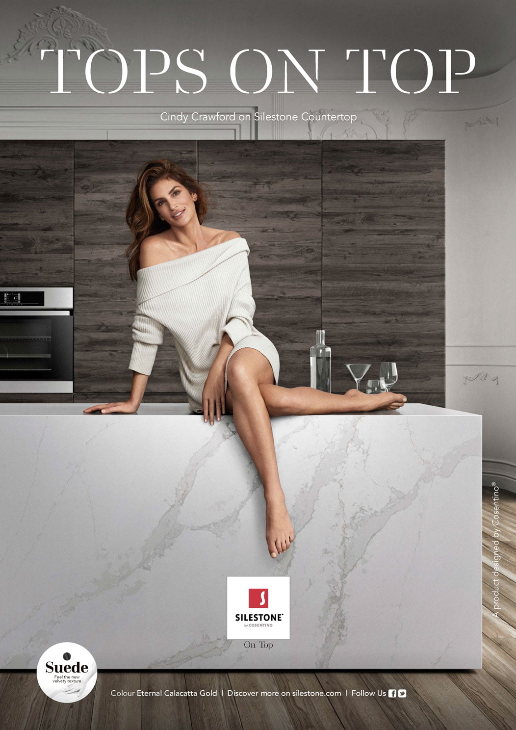 Cindy Crawford y Silestone Atlántida Homes