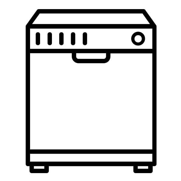 Lavavajillas sin puerta integrada