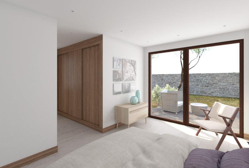 Casa modular Arena 4 dormitorios. Atlántida Homes