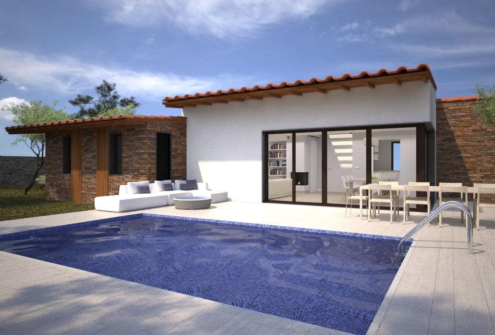 imagen Casa modular Arena 4 dormitorios. Atlántida Homes