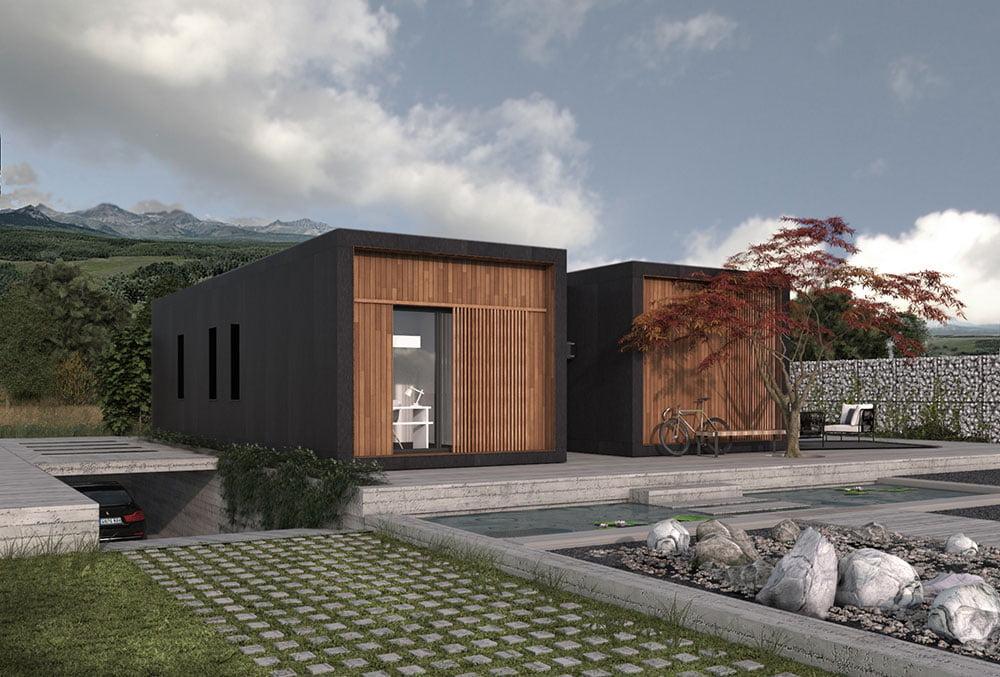 Casa prefabricada Tundra 2 habitaciones. Atlántida Homes