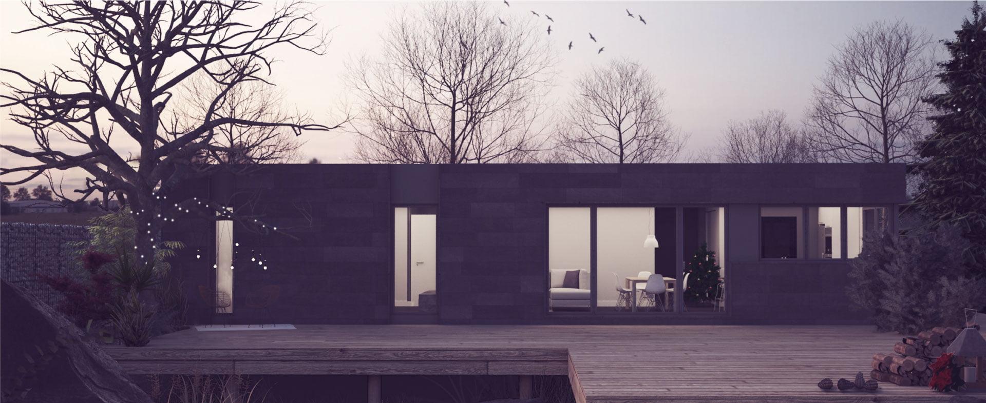 Casas prefabricadas de diseño - Atlántida Homes
