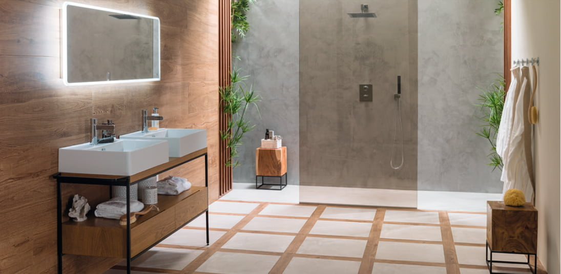 Par ker porcelanosa precios finest cersaie naturalness and fusion of styles with the new - Parker porcelanosa ...