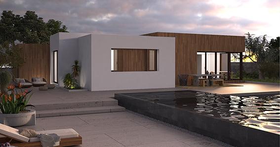 Casa prefabricada Atlantida Homes - Modelo Duna