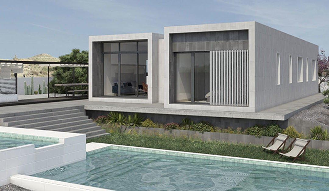 Construir una casa moderna