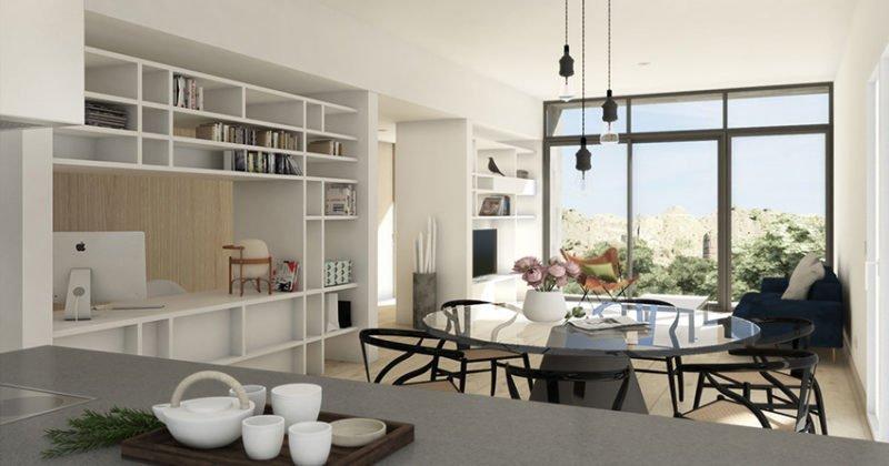 salon casa modular Tundra