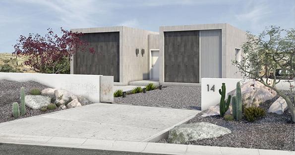 Exterior casa modular Tundra