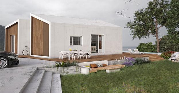 Casa modular CIMA