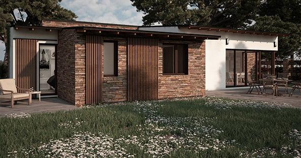 Casas Prefabricadas Rusticas Atlantida Homes Viviendas Modulares