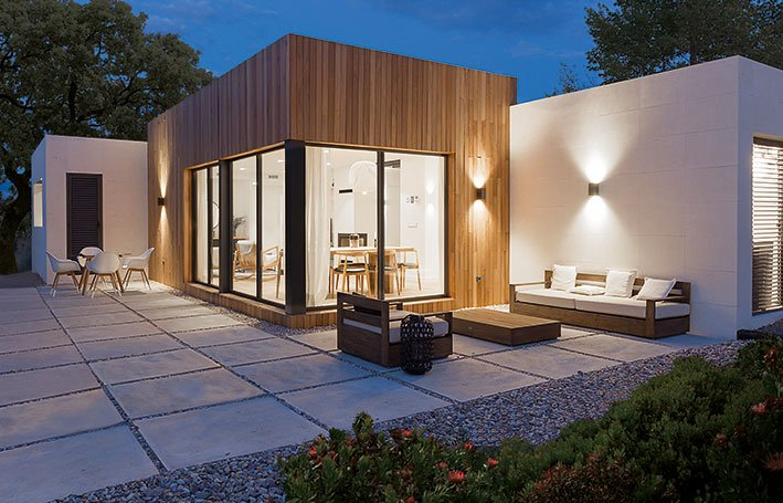 Casas prefabricadas Atlantida Homes - Modelo Duna