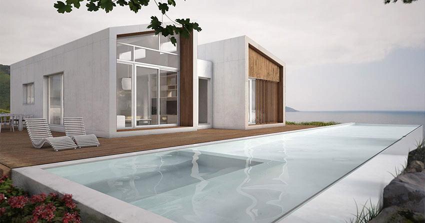 construir una casa modular