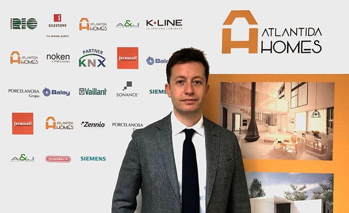 Fernando Agudo (CEO  Atlántida Homes) en Globaliza