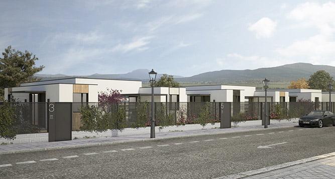 Promoción de vivienda industrializada en Ávila