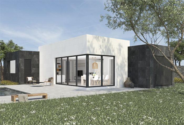 Casa prefabricada Duna de 2 dormitorios. Atlántida Homes