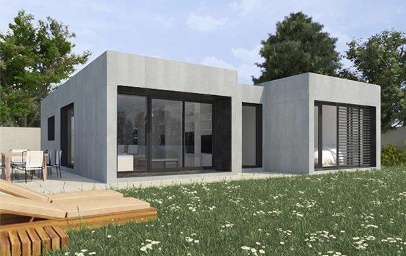 Características de las casas prefabricadas