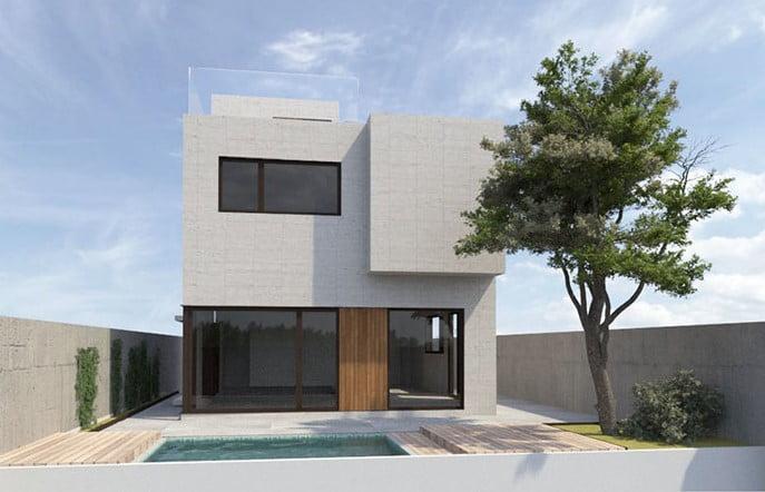 Casas modulares a medida.