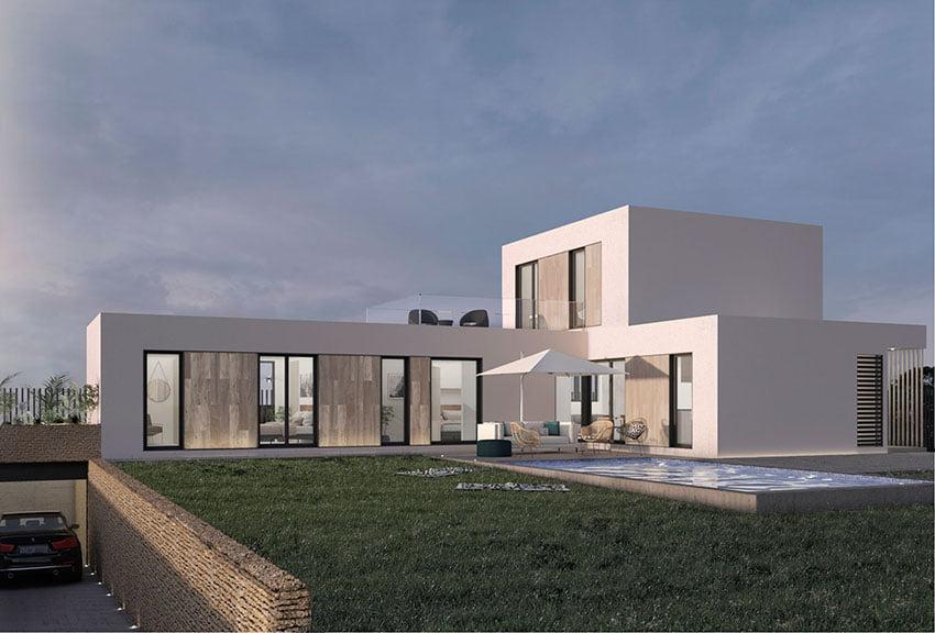 casas prefabricadas de diseño moderno