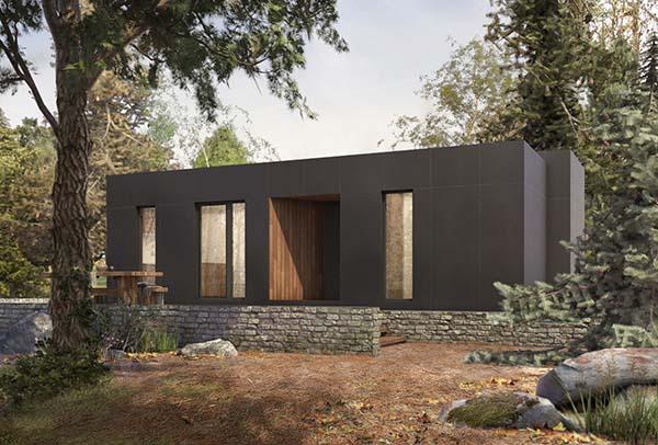 Casa prefabricada Duo. Atlántida Homes