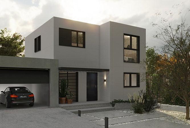 Casas Modulares de 2 plantas