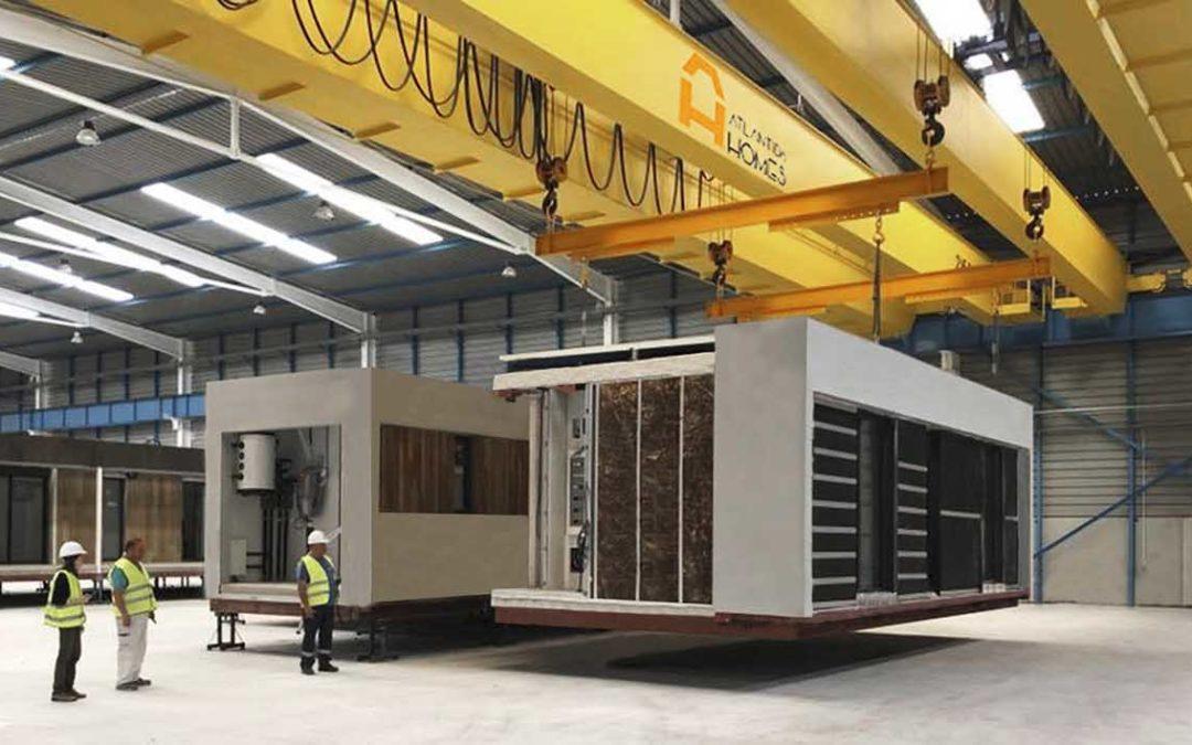 Construcción de casas modulares en Madrid