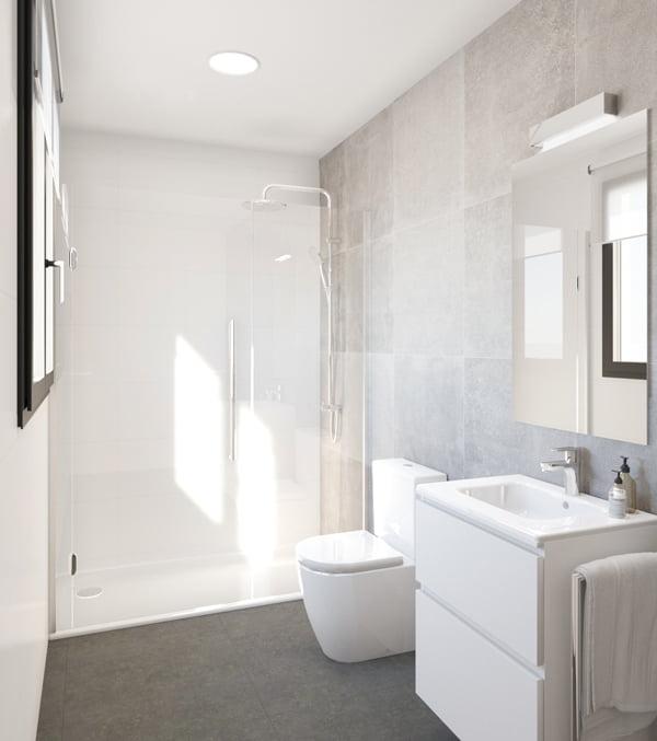 Baño vivienda modular prefabricada Atlas Atlántida HOMES