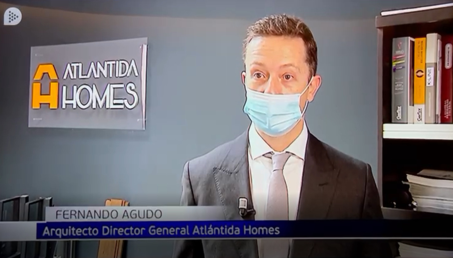 Atlántida HOMES En informativos Telecinco