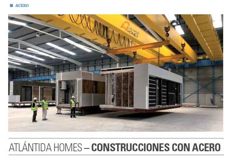 Atlántida HOMES construcción en Acero