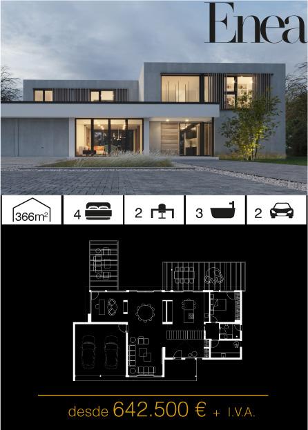 Modelo Enea Atlántida HOMES vivienda industrializada