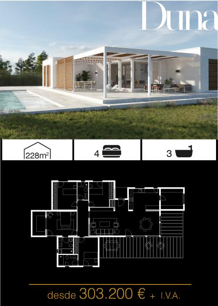 Modelo Duna Atlántida HOMES vivienda industrializada