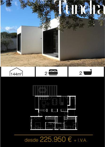 Modelo Tundra 2 Atlántida HOMES vivienda industrializada